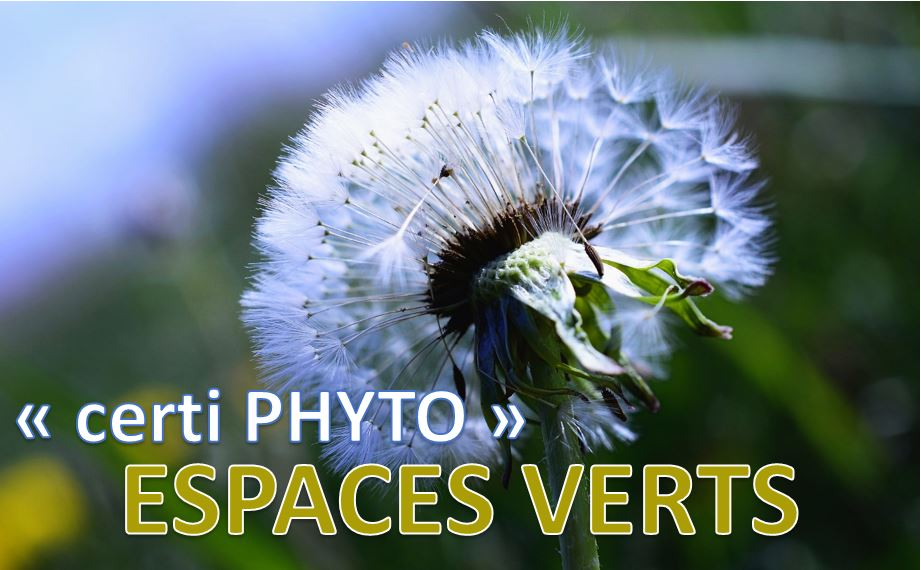 Utilisation de produits Phytosanitaires - Espaces Verts
