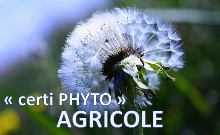 Utilisation de produits Phytosanitaires - Agricole