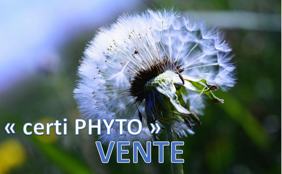 Utilisation de produits Phytosanitaires - Vente